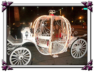 Fantasy Carriages Cinderella Carriage at night